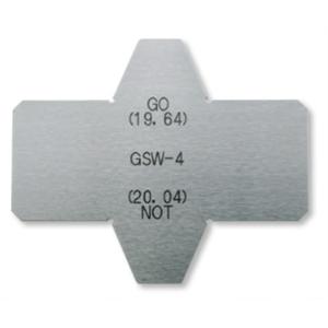 ガスケット溝幅測定限界ゲージ