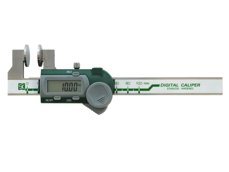 ワイヤーロープ径測定ノギス